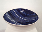 'Evening Song', Porcelain Dish, w46cms, Barbara Wakefield