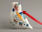 Bone China bird, Paradise design, medium