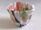 Bone China Folded Form (h7 x w10)